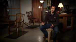 Ian Grundner is an amazing woodworker. Hear his story on our upcoming episode!