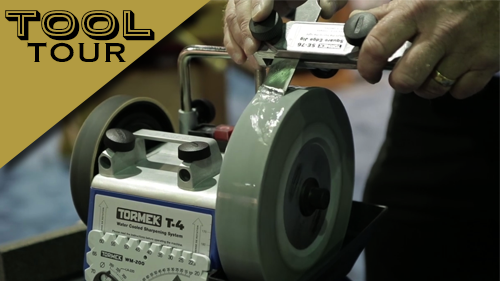 Tool Tour: Tormek T-4 Water Cooled Sharpening System