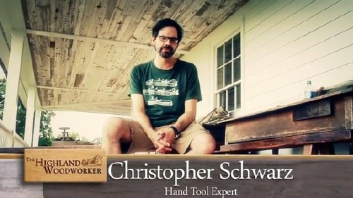 A Question for Christopher Schwarz